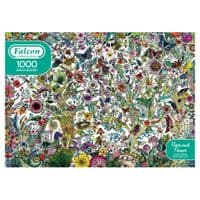 Flora and Fauna - 1000 Pieces Yorkshire Jigsaw Store